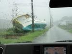 南相馬 津波で流された漁船
